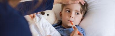 Leki przeciwgorączkowe u dzieci i niemowląt