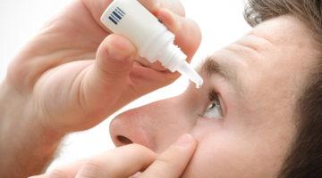 Krople oczne – technika prawidłowego podania