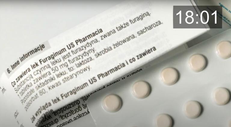 Furagina wspomaga leczenie zakażeń układu moczowego (fot. aptekarz.pl).