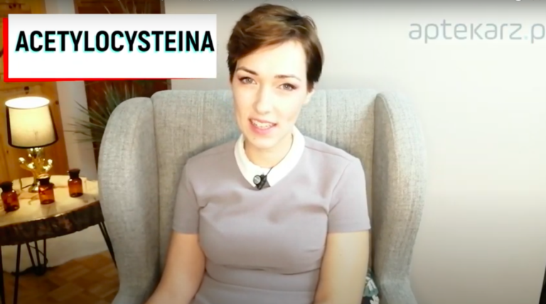 Acetylocysteina ułatwia odkrztuszanie wydzieliny (fot. aptekarz.pl).